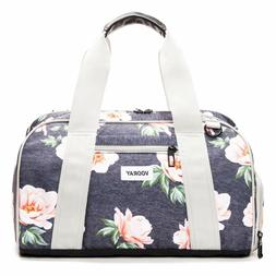 """16"""" Compact Gym Bag with Shoe Pocket Water Resistant Hard Sh"""
