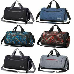 "18""/20"" Duffle Bag Gym Sport Travel Workout Bag Waterproof C"