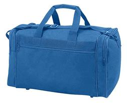 "18"" Small Travel Bag in Royal Blue"
