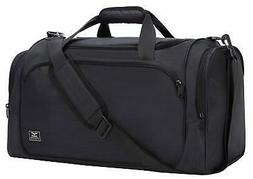 MIER 21 Inch Sports Gym Bag with Wet Pocket Travel Duffel Ba