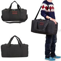 "22"" Men's Canvas Gym Duffle Shoulder Bag Tote Travel Carry-o"