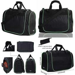 MIER 24Inch Gym Bag Sports Duffel W Shoe Compartment For Men
