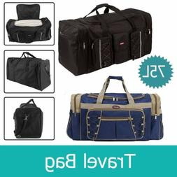 "26"" Heavy Duty Tote Gym Sports Bag Duffle Travel Carry Shoul"