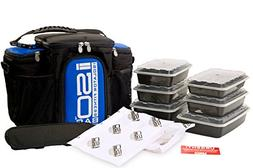 Isolator Fitness 3 Meal ISOBAG Meal Prep Management Insulate