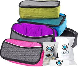 Bago Packing Cubes For Travel Bags - Luggage Organizer 5pc S