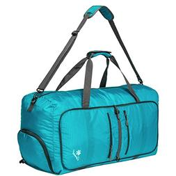 Coreal 80L Foldable Travel Camping Duffel Luggage Bag with S