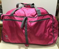 "Bago 80L Pink Duffel Bag for Travel Gym 27"" Bag Stores In Ow"