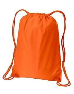 Liberty Bags 8881 Small Drawstring Backpack, ORANGE, One Siz