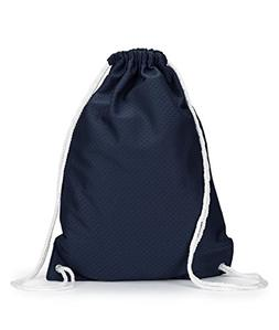 8895 UltraClub Jersey Mesh Drawstring Sport Pack Navy One Si