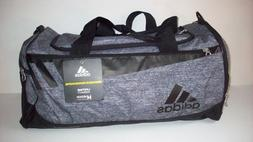 ADIDAS 5142769 MEDIUM TEAM ISSUE DUFFEL BAG GRAY/BLACK HYDRO
