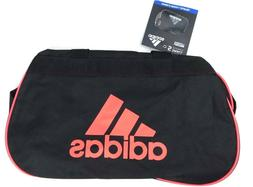 ADIDAS Diablo Small Duffel Gym Bag Black Infrared Logo Unise c79eb3ed6040a