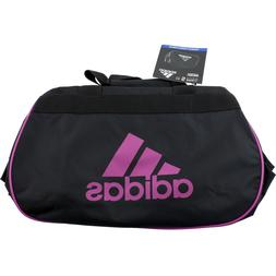 Adidas Diablo Small II Duffle Gym Bag Black Pink Tote Carry