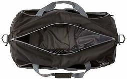 AmazonBasics Packable Travel Duffel, 23-inch, Black