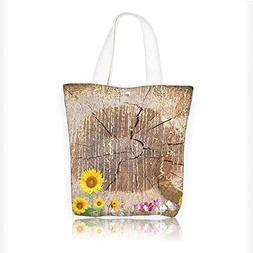 87cdc82947db Canvas Tote Bag Antique Old Planks American Style Western Ru
