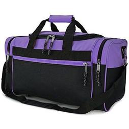 "DALIX 19"" Blank Sports Duffle Bag Gym Bag Travel Duffel with"