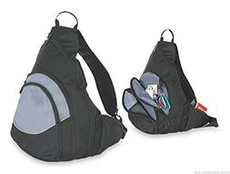 DALIX Single Strap Sling Backpack with Buckle Hiking Sports