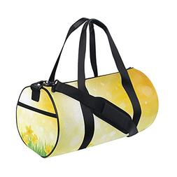 Floral Flowers Country Garden Sports Gym Shoulder Handy Duff