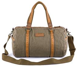 Gootium Duffle Bag - Canvas Travel Duffel Weekender Shoulder