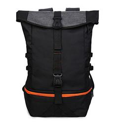 Gym Backpack with Shoe Compartment, Large Luggage Travel Bag