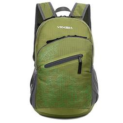 HEXIN 20L Ultra Lightweight Packable Camping Hiking Outdoor
