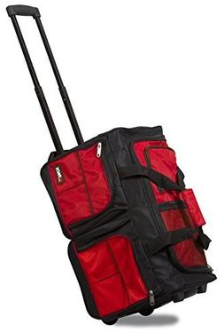 """HiPack HiQuality Multiple Organizer Pockets Rolling 20"""" Duff"""