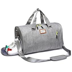 f527b68290e2 Kenox Duffle Bag Sports Gym Travel Luggage Including Shoes C