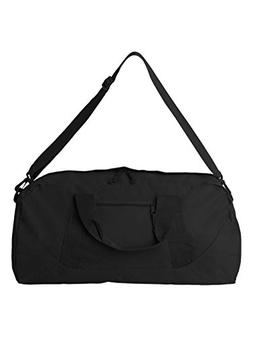 Liberty Bags Game Day Large Square Duffel OS BLACK