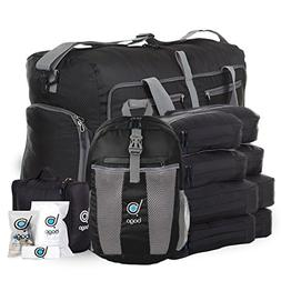 Lightweight Family Travel Luggage Set - Duffle Bag Backpack