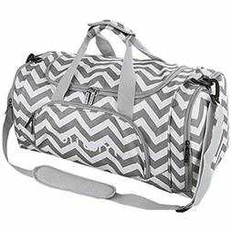 Mosiso Polyester Travel Overnight Duffels for Men/Ladies Gym