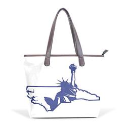 Mr.Weng Household Statue Of Liberty Lady Handbag Tote Bag Zi