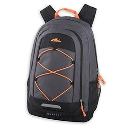 Optimum 19 Inch Bungee Backpack With Padding And Mesh Side P