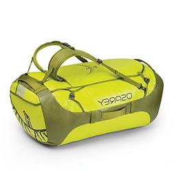 Osprey Packs Transporter 130 Expedition Duffel, Sub Lime, On
