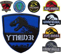 Outlander Gear Jurassic Park Movie  Assortment of Embroidere