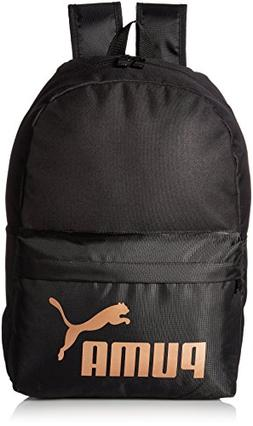 PUMA Women's Evercat Lifeline Backpack, Black/Gold, OS