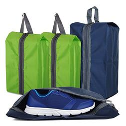Shoe Bags for Travel Storage Gym Bag Waterproof Nylon With Z