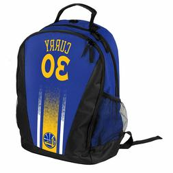 Stephen Steph Curry #30 Warriors Jersey Backpack gym Book Ba