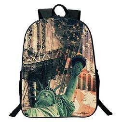 Suitable for Primary School Students Black School Bag,backpa