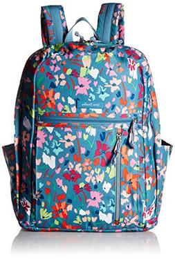 Vera Bradley Lighten Up Grand Backpack Superbloom Sketch Wat