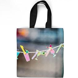 Westlake Art - Clip Clothes - Tote Bag - Fashionable Picture