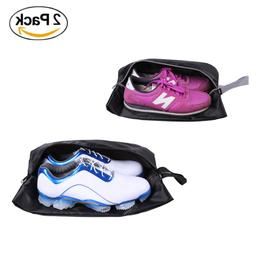 YAMIU Travel Shoe Bags Set of 2 Waterproof Nylon with Zipper