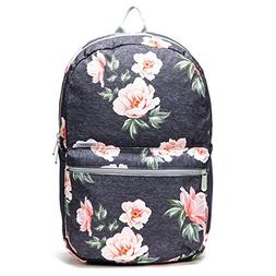 Vooray ACE Flex-Comfort School Backpack, Rose Navy
