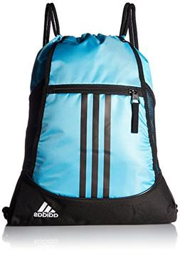 adidas Alliance II Sackpack, Bright Cyan/Black/White, One Si