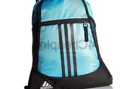 adidas Alliance II Sackpack, Onix Jersey/Black/White, One Si