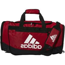 adidas Defender III Duffel Bag-Power Red/Black/White, Medium