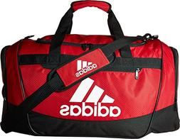adidas Defender III Duffel Bag, Red/Black/White, Medium
