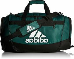 adidas Defender III Duffel Bag, Green/Black/White, Medium