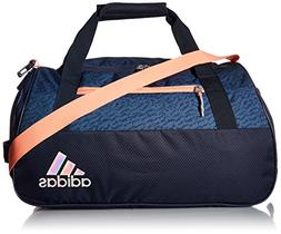 adidas Women's Squad III Duffel Bag, One Size, Trace Blue/Tr