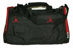 Nike Air Jordan Duffel Gym Bag in Red and Black 8A1215-344 -