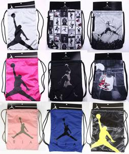Nike Air Jordan Gym Sack Drawstring Backpack Drawstring Bag