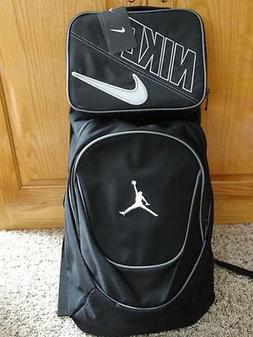 Nike Air Jordan Jumpman Black Book-Bag BackPack 9A1118-804 S